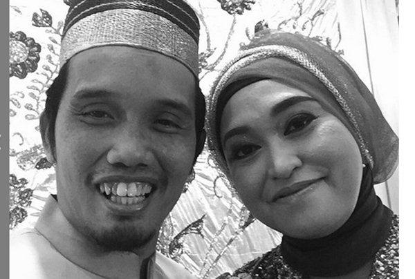 Ustaz Maulana dan istri / Instagram m_nur_maulana