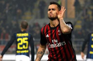 Tanpa Higuain, Milan Sikat Genoa Skor 2 - 0