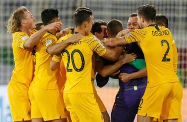 Menang Adu Penalti, Australia Berpeluang Pertahankan Gelar Piala Asia