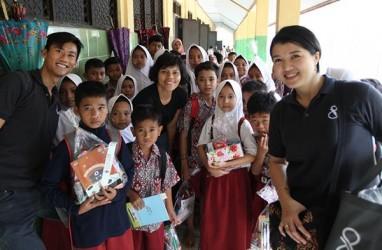 Damai Putra Bantu Sekolahan Terdampak Tsunami Banten