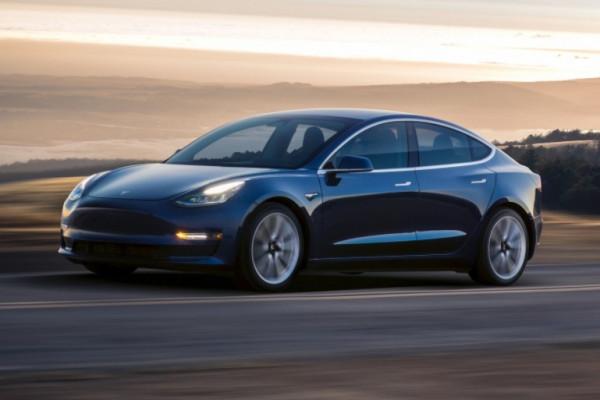 Tesla Model 3.  - Tesla