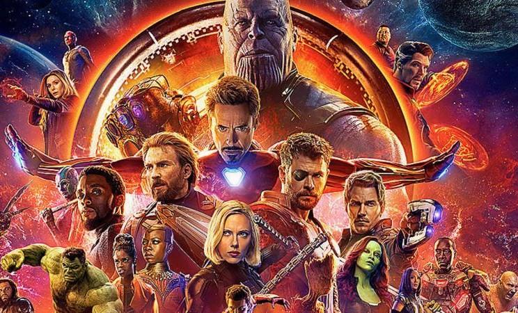 Film Avengers: Infinity War. - Istimewa