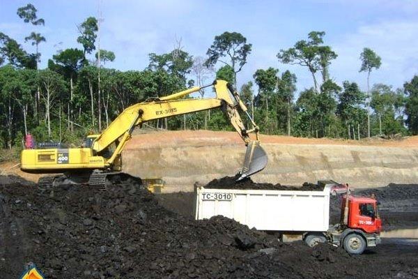 Tambang batu bara milik Bayan Resources (BYAN).