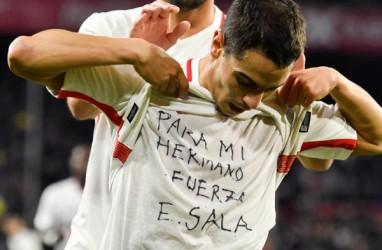 Gol untuk Sala, Sevilla Bekuk Barcelona di Copa del Rey