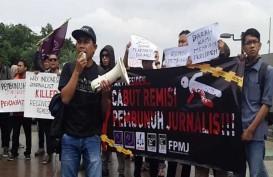 Penolakan Remisi Pembunuh Jurnalis, Massa Tuntut Jokowi Revisi Keppres 29/2018