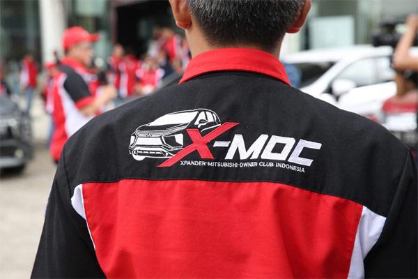 Sejak terbentuk pada 10 September 2017, anggota X-MOC telah mencapai lebih dari 2.200 anggota yang tersebar di 28 provinsi.  - MMKSI
