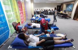 Wapres JK Berikan Satyalancana untuk 840 Pendonor Darah Sukarela