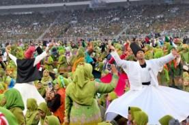 Harlah Muslimat NU, 999 Penari Sufi & Peserta Padati…