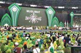 100.000 Muslimat NU Salat Tahajud di GBK, Yenny Wahid Sebut Indonesia Beruntung