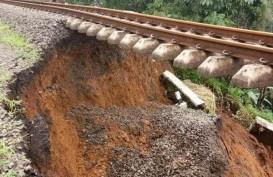 Jalur Banjir & Longsor, KAI Daop IV Merugi Ratusan Juta