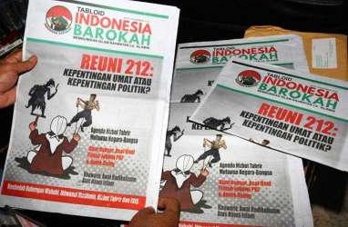 Elite TKN Jokowi-Ma'ruf Disebut-Sebut Terlibat Tabloid Indonesia Barokah
