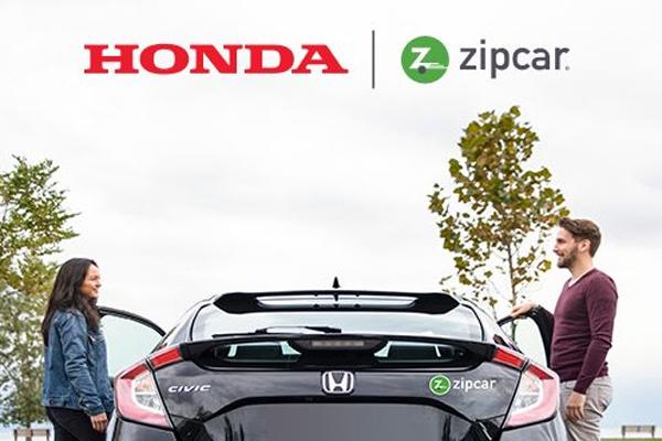Honda telah lama terlibat dalam industri berbagi mobil.  - HONDA
