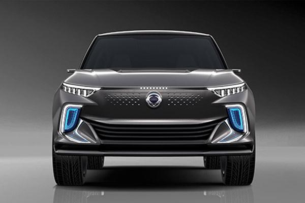 Ssyangyong e-SIV Concept Car.  - SSYANGYONG