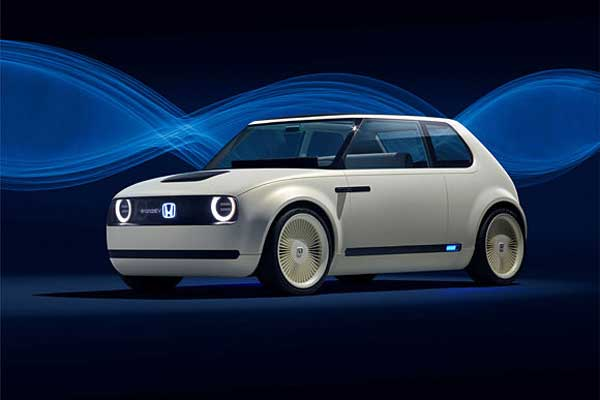 Honda Urban EV Concept.  - Honda