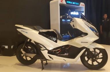 Resmi Mengaspal, Sepeda Motor Honda PCX Electric Dilengkapi 2 Baterai
