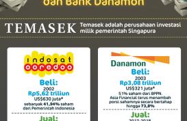 Jual Indosat dan Danamon, Ini Total Keuntungan Temasek