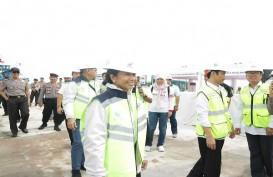 Menteri Rini pastikan Tol Bakauheni - Terbanggi Besar Sepanjang 140,9 Km Segera Beroperasi