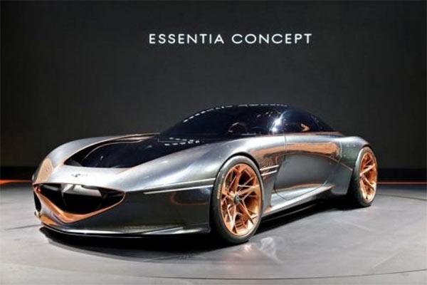 Hyundai Genesis Essentia Concept.  - HYundai