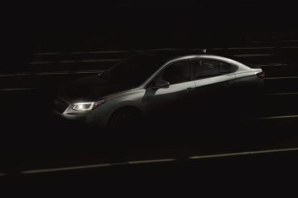Subaru Legacy.  - Subaru