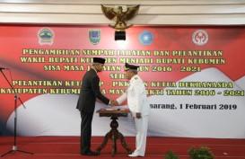 Yazid Mahfudz Jadi Bupati Kebumen, DapatAmanat Reformasi Birokrasi dari Ganjar Pranowo