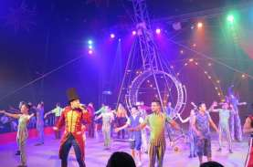 Paramount Land Gelar Sirkus The Great 50 Show