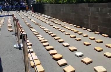 Polisi Amankan 800 Kilogram Ganja Aceh