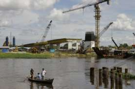 PUPR Riau Lakukan Uji Beban Jembatan Siak IV