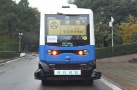 China Jajal Bus Nirawak 5G di Chongqing