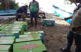 Desa Batin Suir Dapat 211 Lampu Tenaga Surya Hemat Energi