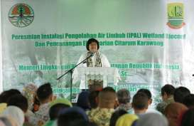 Atasi Pencemaran Limbah, Menteri LHK Resmikan IPAL Komunal Wetland-Biocord