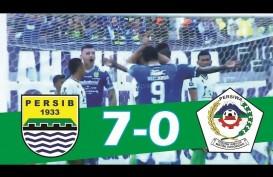 PIALA INDONESIA: Persib Hajar Persiwa 7-0, di 16 Persib Duel Lawan Arema FC