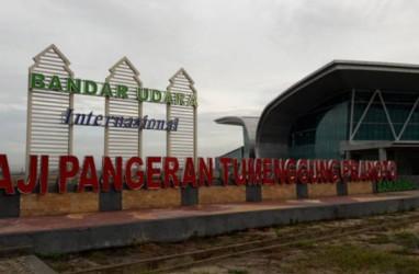 Bandara APT Pranoto Samarinda Layani 3.900 an Penumpang Per Hari