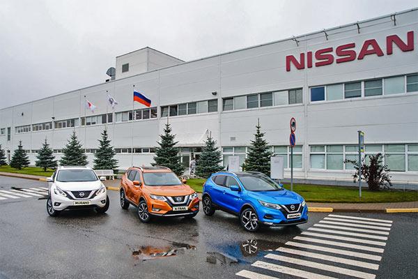Model Qashqai di pabrik Nissan di Rusia / NISSAN
