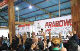 Prabowo: Praktik Ekonomi Sudah Menyimpang dari Amanat UUD 1945