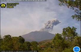 Gunung Agung Erupsi, 3 Daerah di Karangasem Terpapar Hujan Abu