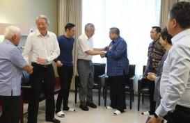 PM Singapura Lee Hsien Loong Jenguk Ani Yudhoyono