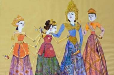 Instalasi Wayang Golek, Seni Rupa Post Tradisi dari Sasya Tranggono