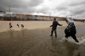 Rencana Presiden Trump Bangun Tembok Perbatasan AS-Meksiko…
