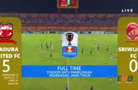 Piala Indonesia: Madura United vs Sriwijaya FC Skor Akhir 5-0, Ini Live Streamingnya