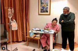 Jenguk Ani Yudhoyono, Mantan Wapres Boediono Enggan Berkomentar