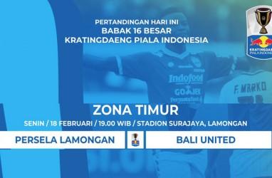 Piala Indonesia: Persela vs Bali United Kick-off 19.00 WIB. Ini Live Streamingnya