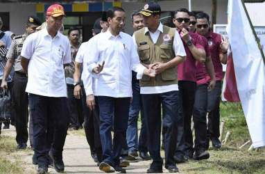 Jokowi Setujui Bantuan Rehabilitasi Rumah Korban Tsunami Banten Dibagikan Tunai