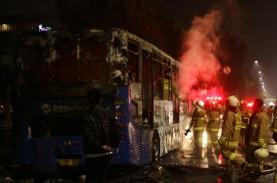 Begini Kronologi Bus TransJakarta Terbakar di Pasar…