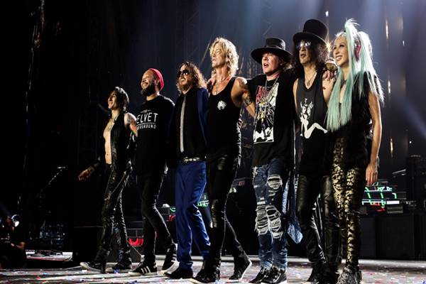 Grup band Guns N Roses (GNR) - Istimewa