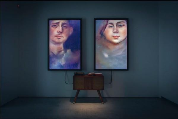 Memories of Passersby oleh seniman Mario Klingemann - Sotheby