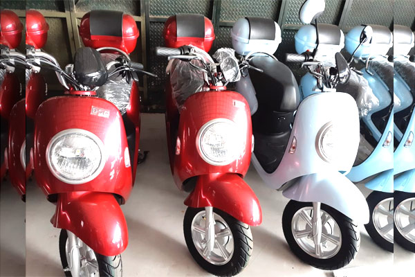 Pengoperasian U-Winfly sama persis dengan motor listrik yang belum lama ini diluncurkan pabrikan Jepang, Honda. - BISNIS.COM/