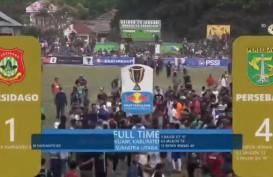 Piala Indonesia: Persebaya Hajar Persidago 4-1, Tiket Perempat Final di Depan Mata