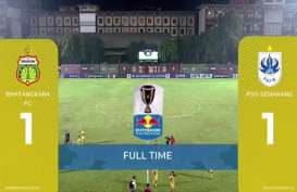 Piala Indonesia: Bhayangkara FC vs PSIS Skor Akhir 1-1, Leg-2 Jadi Partai Hidup Mati