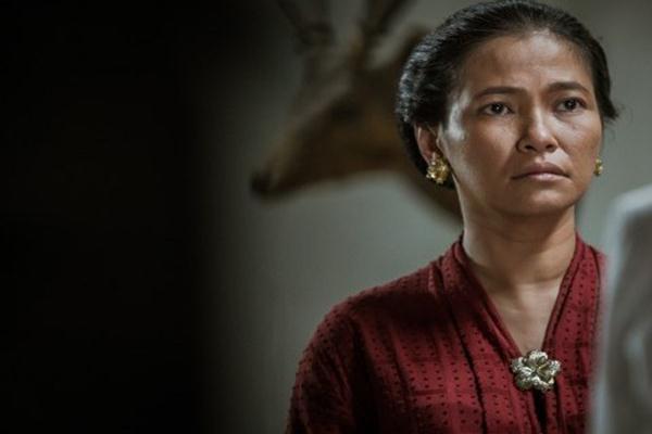 "Djenar Maesa Ayu di film ""Kartini"". - Istimewa"