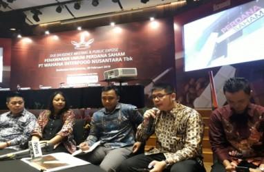 Wahana Interfood Nusantara Incar Rp33 Miliar dari IPO